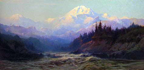 File Painting Of Mt Mckinley By Sydney Laurence Jpg