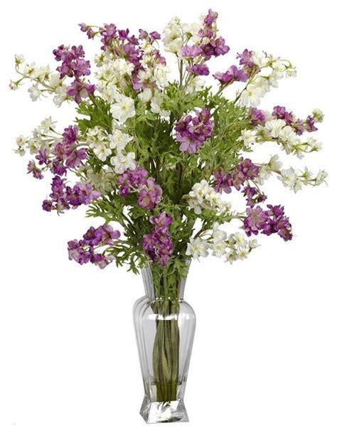 dancing silk flower arrangement contemporary