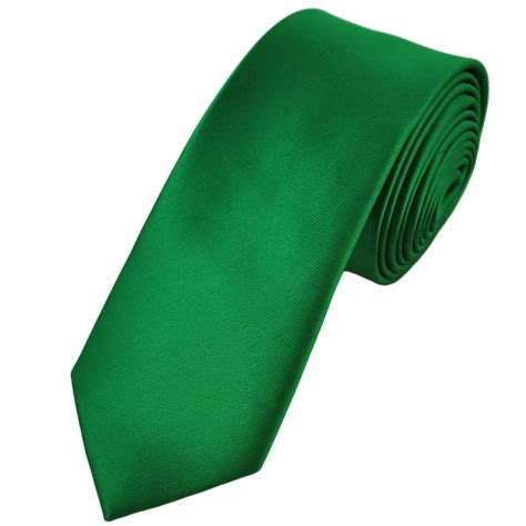 plain mid green 6cm tie from ties planet uk