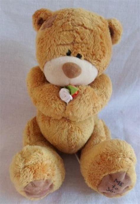 Teddy Mi Bunny Brown Ori collectable a light brown tatty teddy me to you