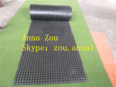 used coil perforated rubber mat agriculture rubber matting