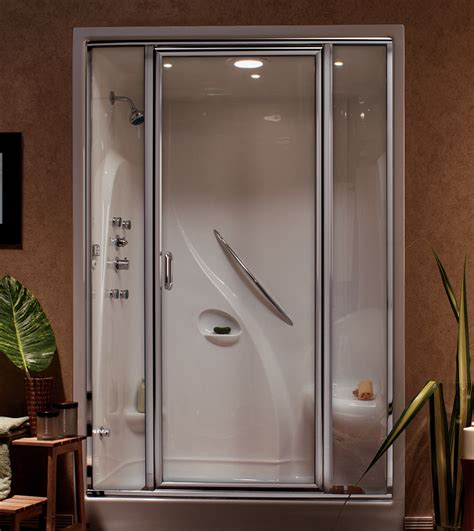 Motorhome Shower Unit by Cer Shower Stall White Rv Outdoor Faucet Shower