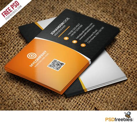 free business card templates in psd format creative corporate business card bundle free psd