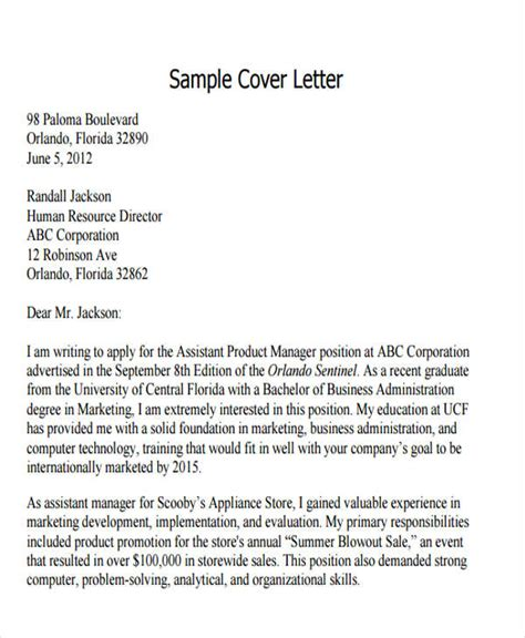 Cover Letter For Business Promotion 44 Business Letter Format Free Premium Templates