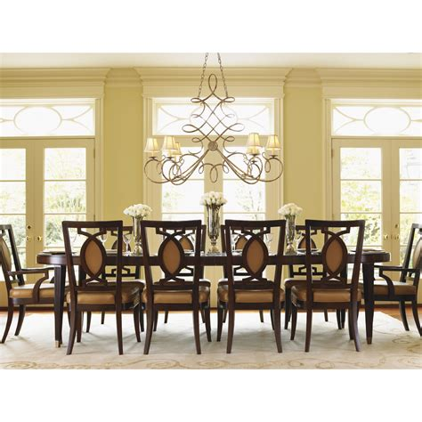 lexington dining room table lexington furniture 338 872 st tropez divonne dining table