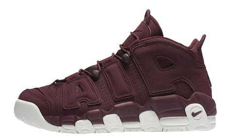 Harga Nike Air More Uptempo nike air more uptempo maroon 921949 600 the sole supplier