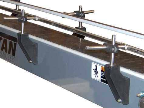 powered turntable conveyors titan industries inc titan conveyors