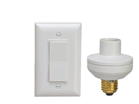 Remote Controlled Light Fixture Wireless Remote Light Switch Socket Cap To Turn Ls Pull Chain Fixture Ebay