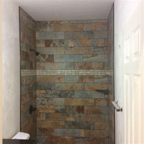 slate tile bathroom shower 1000 ideas about slate shower on slate