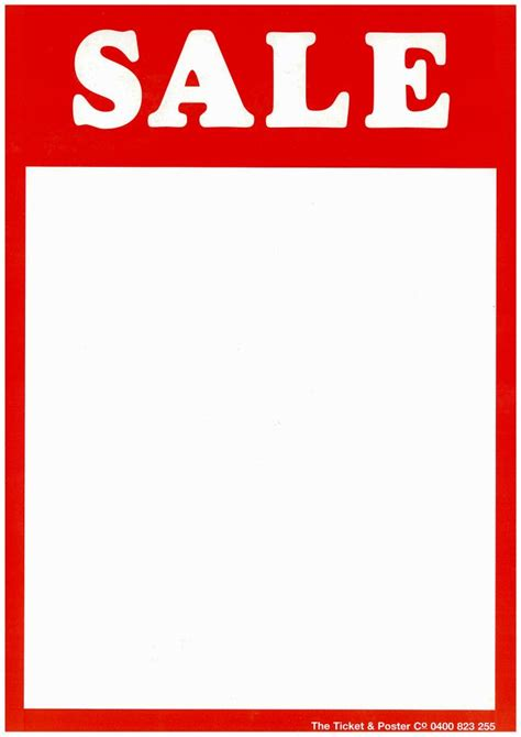 sle of tickets templates sale poster and ticket kit sale poster sale price ticket