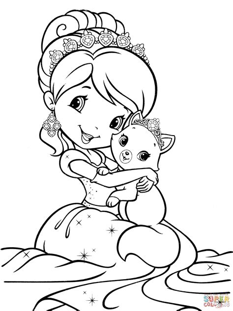 coloring pages 24 com download add games your website strawberry shortcake princess coloring pages free coloring