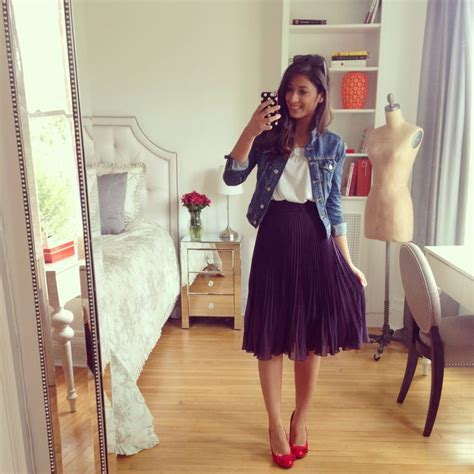 mimi ikonn summer outfit cute outfit jean jacket