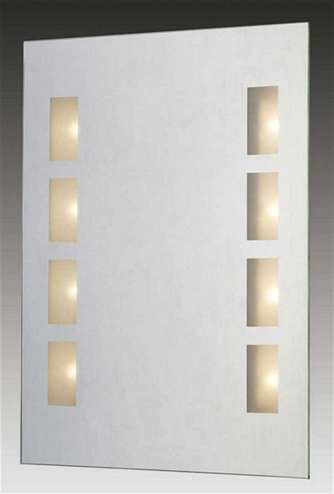 bathroom mirror light shaver socket paul neuhaus 1056uk ip44 illuminated bathroom mirror with