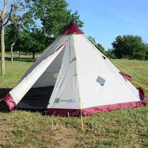 tende tipi skandika tipii 200 tente cing tipi indien 6 pers 2m