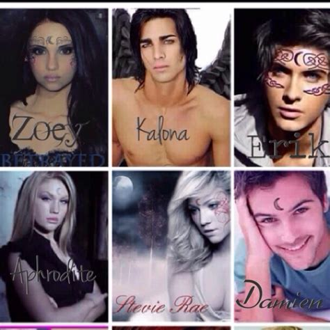 house of night characters house of night cast 1 house of night pinterest
