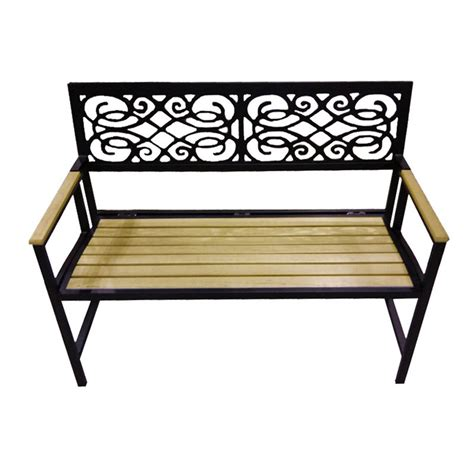 folding benches outdoor dc america 4 ft portable aluminum folding garden bench