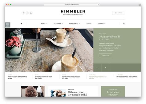themes blog wordpress 30 greatest weblog wordpress themes for company private