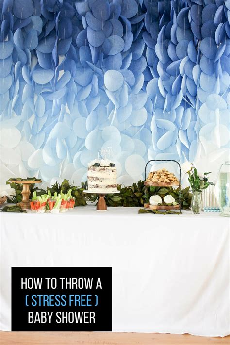 When To Throw A Baby Shower by How To Throw A Stress Free Baby Shower Hawthorne And