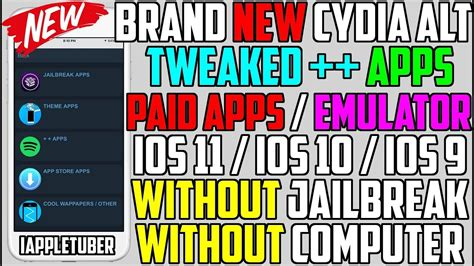 paid apps free hacked apps games no jailbreak no pc ios 10 new cydia alternative get paid apps hacked games tweaked