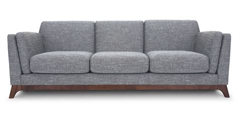furniture gray sofa gray sofa 3 seater with solid wood legs article ceni