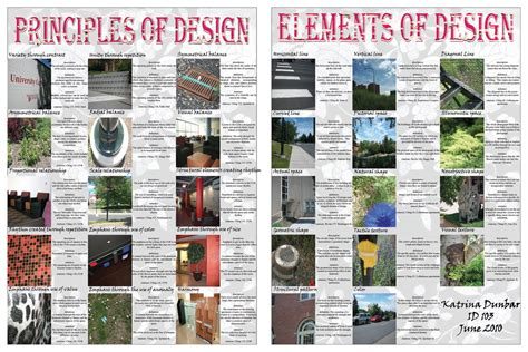 design elements and principles poster interior design elements and principles