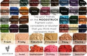 younique pigment colors younique s mineral pigment color tag your