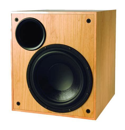 Speaker The Real Subwoofer krix seismix 3 mk6 subwoofer in real timber veneer