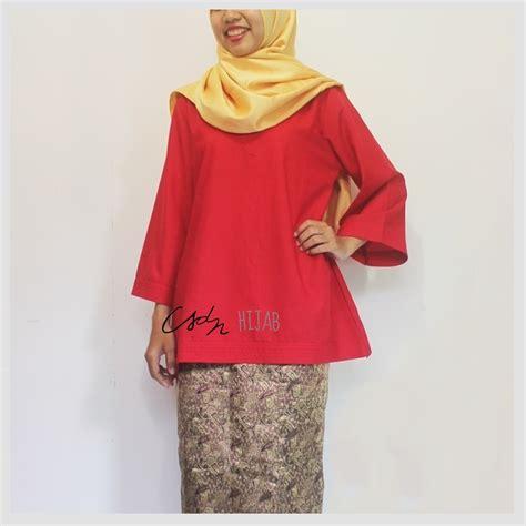 Atasan Wanita Blouse Polos Baju Celana Kulot Motif Julien Set Xl jual blouse atasan polos untuk ke pesta katun ima merah csdn