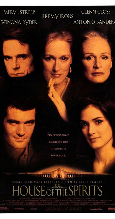 The House Of The Spirits the house of the spirits 1993 imdb