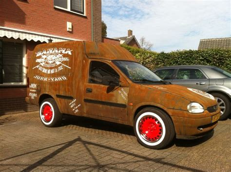 opel rat opel combo ratlook made by www ratlooks nl art pinterest