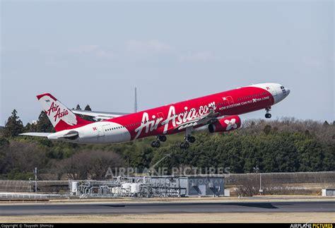 airasia narita terminal hs xta airasia x airbus a330 300 at tokyo narita intl
