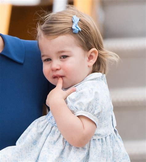 princess charlotte princess charlotte s cutest pictures in canada 2016