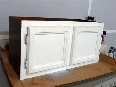 bench with cabinets upcycle kitchen cabinets into a storage bench how tos diy