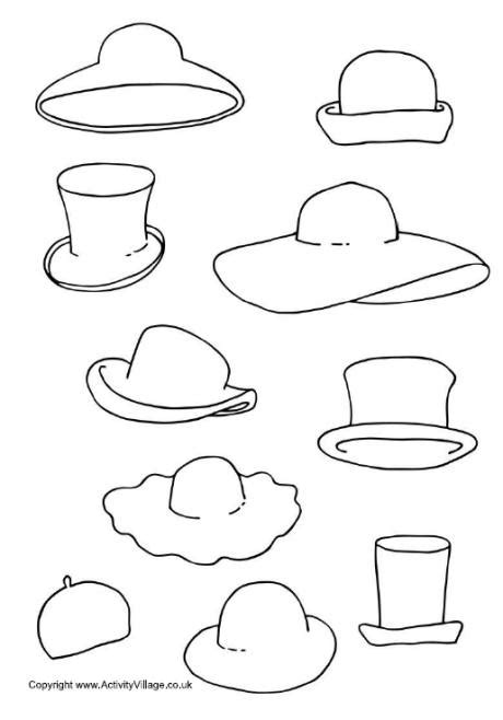 printable numbers for drawing out of hat decorate the hats printable