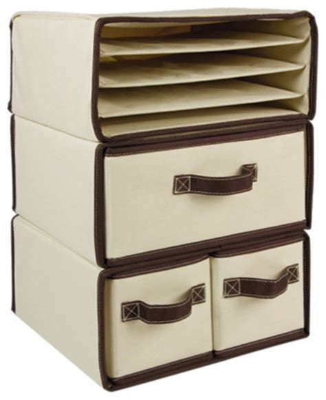 Modern Desk Accessories And Organizers Canvas Organizers Contemporary Desk Accessories By One Step Ahead