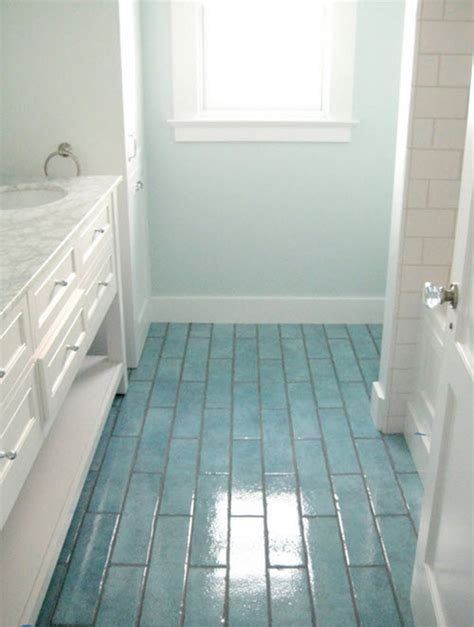 blue tile bathroom floor 40 blue bathroom floor tile ideas and pictures