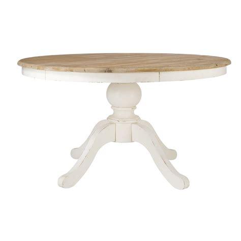 table ronde de salle 224 manger en bouleau d 140 cm provence