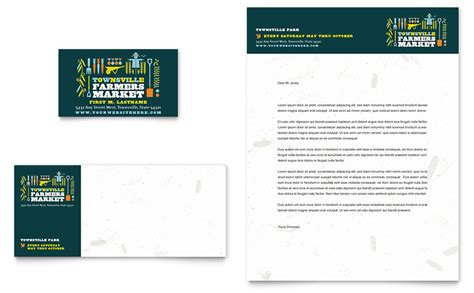 farmers business card templates farmers market business card letterhead template word
