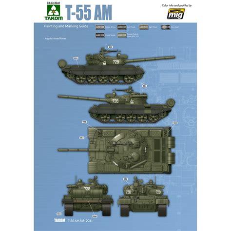 Takom 1 35 Russian Medium Tank T 55 Am 1 35 russian medium tank t 55 am ammo by mig jimenez