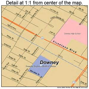 downey california map downey california map 0619766