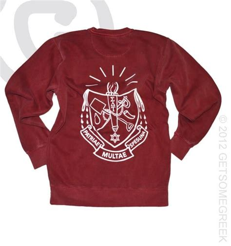 custom comfort colors sweatshirt 9 best images about sigma delta tau custom board on