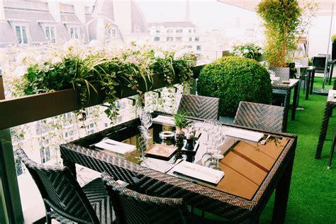 restaurant le w terrasse restaurant le w rooftop bar d 233 jeuner diner brunch h 244 tel