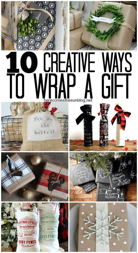 creative ways to wrap christmas gifts 10 creative ways to wrap a gift here comes the sun