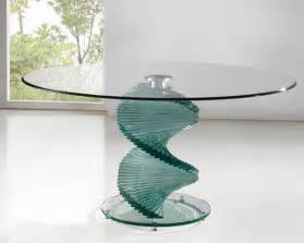 dining table clear glass