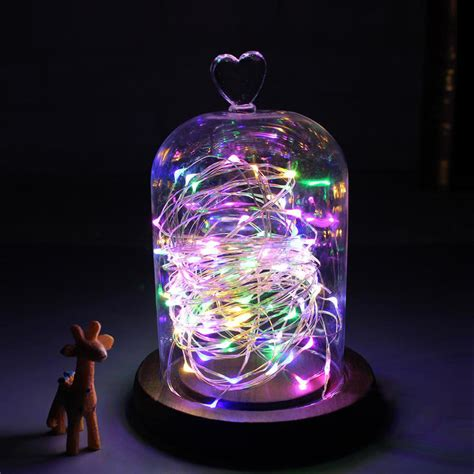 2m 5m Led Home Decoration Holiday Light Fairy String Starry String Lights Battery Operated