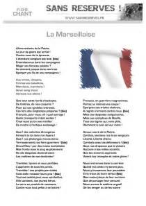la marseillaise notre hymne en entier