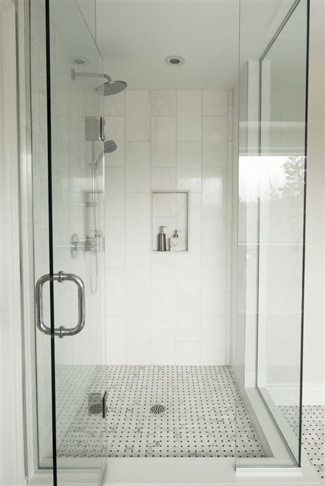 Shower Doors For Stand Up Shower Bathroom Gorgeous White Bathroom Decoration Using Square