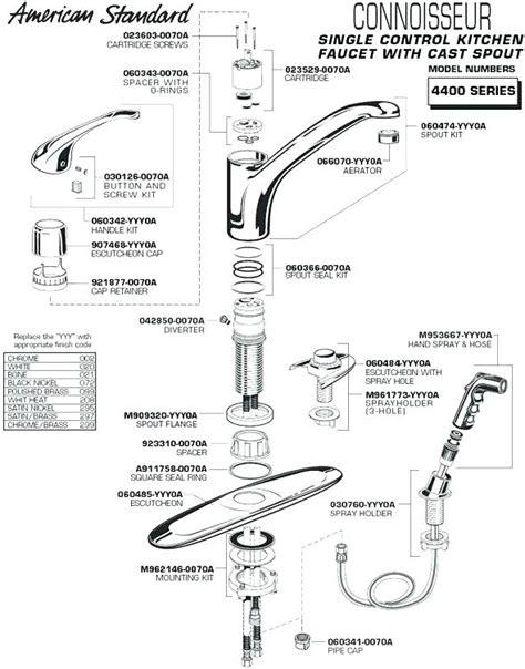 moen 7400 series kitchen faucet parts wow