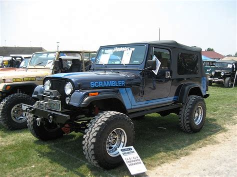 jeep scrambler blue jeep scrambler cj 8 jeeps pinterest group i am and