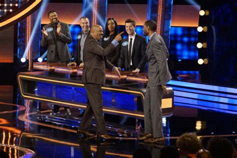 celebrity game shows on tv celebrity family feud season three renewal for abc series